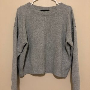 Grey Forever 21 Knit Sweater